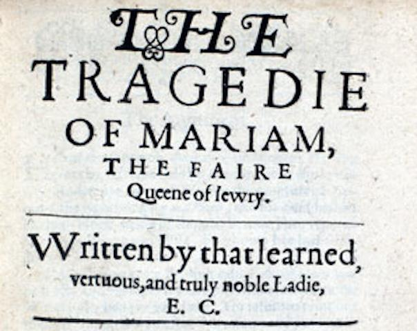 IF presents *The Tragedy of Mariam* this Thursday!