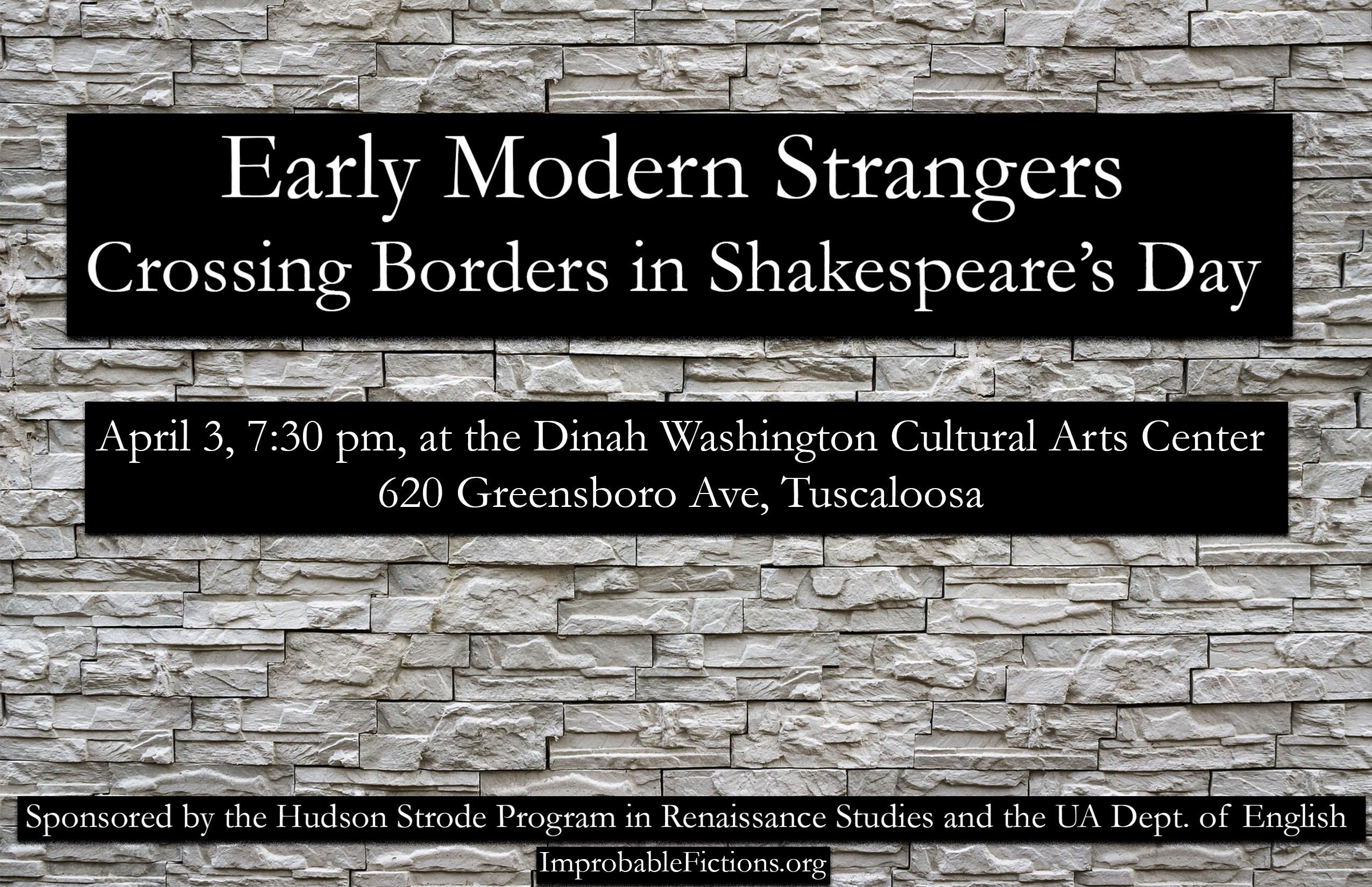 Early Modern Strangers poster final