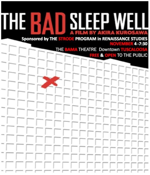The Bad Sleep Well, Shakespeare Film Posters